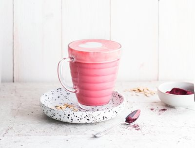 Beetroot Oat Latte Recipe