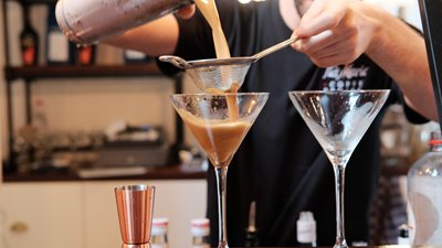 Coffee Cocktail at home with Tia Maria
