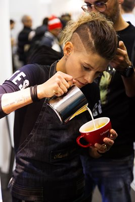 Manuela Fensore Over Hoe Je World Latte Art Champion Wordt