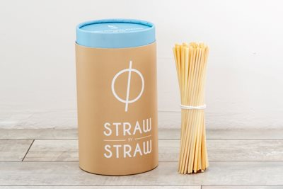 Straw by Straw introduceert duurzame rietjes